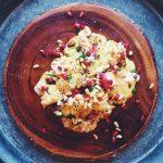 Roasted cauliflower & tahini